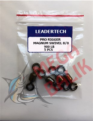 LEADERTECH Magnum Crane Swivel 8/0 (5 piece)