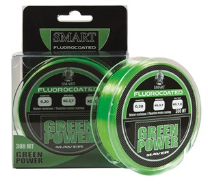 MAVER Monofilo Green Power Fluorine 300m  0,20mm