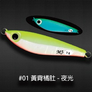 SAME Minnow Jig MJ Jig 7g #1