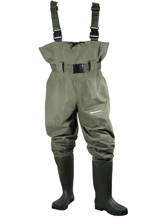 SPRO PVC Chest Waders Size 41