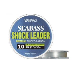 VARIVAS Sea Bass Shock Leader FLUORO CARBON 10lb