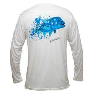 Bob Marlin Performance Shirt Ocean GT White