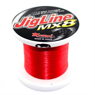 MOMOI JIGLINE MX8 0,30mm (55lb/25kg) 500mt Red