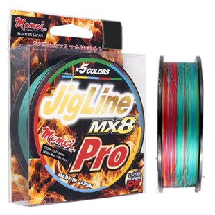 MOMOI JIGLINE MX8 PRO 0,16mm (20lb/9kg) 300mt MC